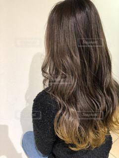 グラデーションヘアの写真・画像素材[2282446]