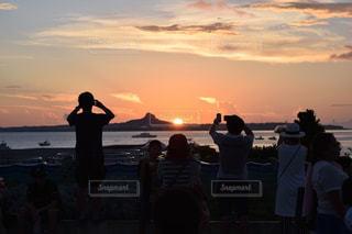 夕日,沖縄,旅行,美ら海水族館,伊江島,海洋博,海洋博公園