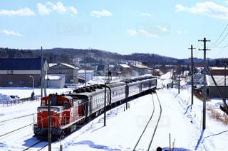 雪に覆われた鉄道 - No.907182