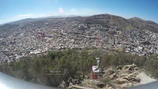 メキシコ サカテカス ブファの丘からの風景の写真・画像素材[916669]