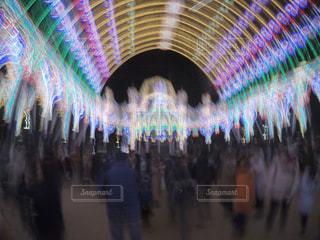 神戸ルミナリエ 混雑の中の写真・画像素材[922369]
