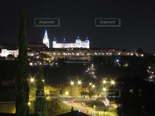 夜の街の景色の写真・画像素材[923093]