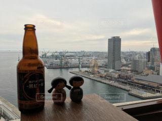 神戸メリケンビール を飲みながら!の写真・画像素材[929146]