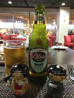 ペルー リマ空港で飲んだペルービール🍺の写真・画像素材[929553]