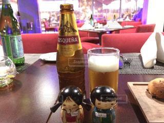 ペルー リマ空港で飲んだペルービール🍺の写真・画像素材[929575]