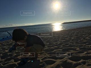 自然,海,空,屋外,砂,綺麗,貝殻,水面,沖縄,観光