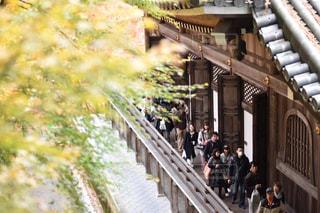橋の上歩く人の写真・画像素材[909312]