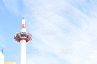 空,京都,観光,タワー,旅行,旅,京都タワー,観光スポット,京都観光