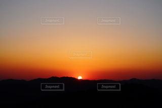 自然,空,夕日,綺麗,夕暮れ,山,オレンジ