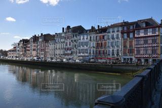 風景,建物,橋,街並み,川,景色,観光,旅行,フランス,街並,海外旅行,町並み,バスク,町並,バイヨンヌ,バスク地方