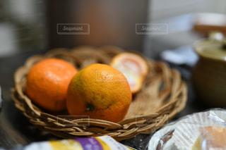 食卓,オレンジ,フルーツ,果物,おやつ,テーブルフォト,蜜柑,ミカン
