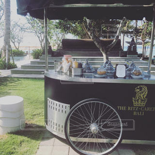バリ島♡リッツカールトンのアイスクリームの写真・画像素材[911948]