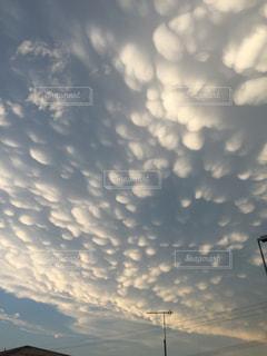 雲母雲の写真・画像素材[912205]