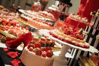 いちごのケーキやデザートの写真・画像素材[919575]