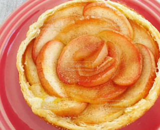 ケーキ,フルーツ,果物,りんご,林檎,手作り,アップルパイ