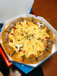 韓国ソウル!美味しさぎっしり!サツマイモスペシャルピザ♡の写真・画像素材[912102]