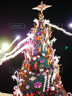 冬,クリスマス,ユニバーサル・スタジオ・ジャパン,USJ,クリスマスツリー
