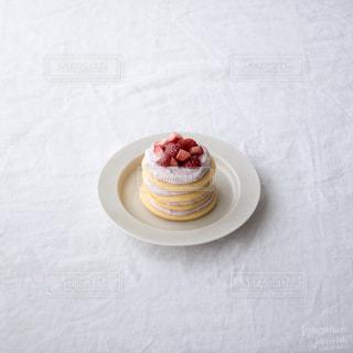 パンケーキ,いちご,苺,イチゴ,デコレーションケーキ,ミニケーキ,パンケーキタワー