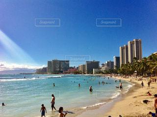 ビーチの写真・画像素材[1011190]