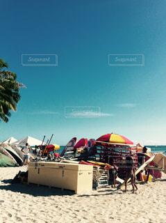 ビーチの写真・画像素材[1011375]