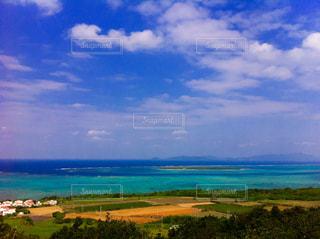 綺麗な青の写真・画像素材[1096668]