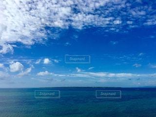 空の青、海の青の写真・画像素材[1118459]