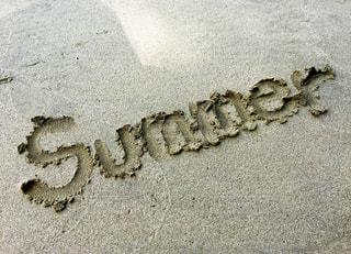 夏,文字,砂,ビーチ,砂浜,英語,英字,メッセージ,summer,手書き,おしゃれ,手書き文字