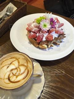 女子が好きそうな可愛いカフェの写真・画像素材[915866]
