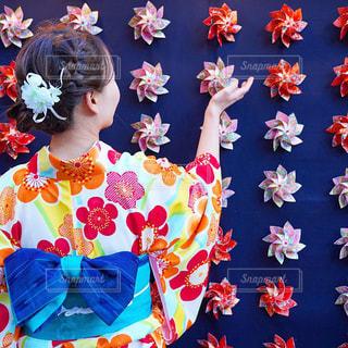 色とりどりの花のグループの写真・画像素材[1730275]