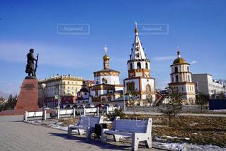 冬,景色,観光,海外旅行,ロシア,冬の観光,イルクーツク