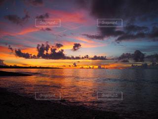 沖縄のサンセットの写真・画像素材[941950]