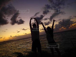 沖縄のサンセットの写真・画像素材[941978]