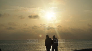 沖縄の夕陽の写真・画像素材[960158]