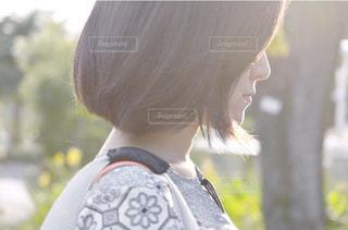 髪型の写真・画像素材[1059373]