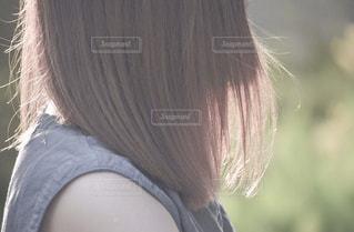 髪型の写真・画像素材[1059381]