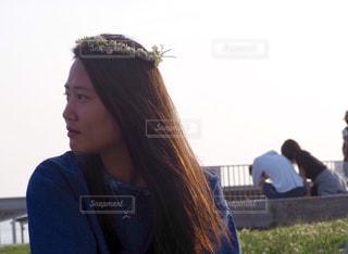 髪型の写真・画像素材[1059403]