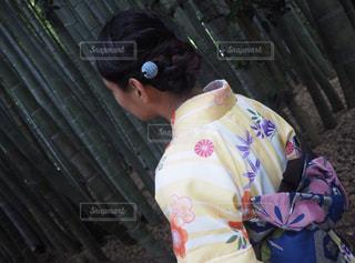 着物ヘアアレンジの写真・画像素材[1059417]