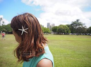 髪型の写真・画像素材[1059423]