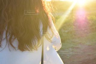 夕陽の写真・画像素材[2505269]