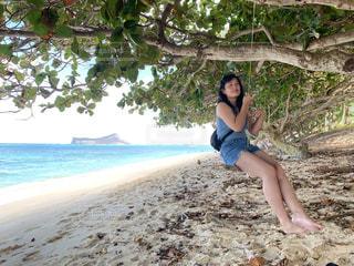 ハワイのビーチですの写真・画像素材[3200754]