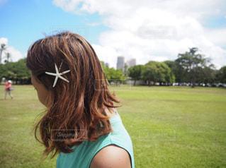 ハワイでの一枚の写真・画像素材[3201485]