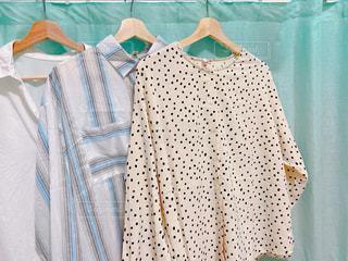 夏,カーテン,日常,洋服,シャツ,生活,ライフスタイル,ブラウス,収納,衣替え,整理整頓
