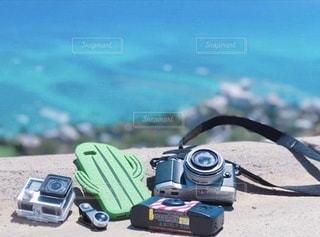 カメラコレクションの写真・画像素材[3390284]