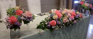 花,結婚式,装飾,フラワーアレンジ,ブライダル,ウェデイング