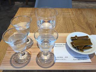 富山 日本酒飲み比べの写真・画像素材[927270]