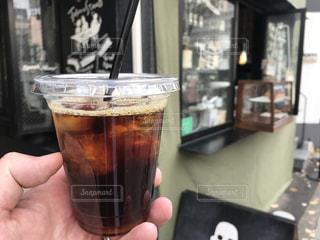 アイスコーヒー-0003の写真・画像素材[927403]