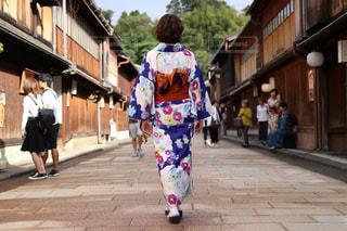 彼女と金沢の写真・画像素材[1668323]