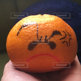オレンジのアップの写真・画像素材[929696]