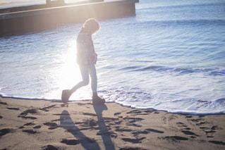 早朝の海の写真・画像素材[922929]