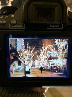 カメラ,夜景,イルミネーション,ライトアップ,ディスプレイ,明るい,デート,エレクトロニクス,シャンパンゴールド,夜景撮影